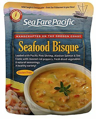 Sea Fare Pacific Seafood Bisque Soup, 9 Ounce
