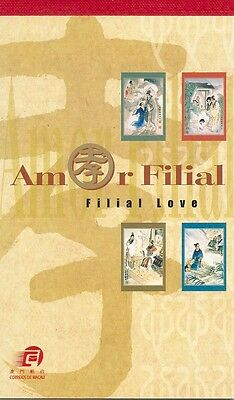 MACAO-CHINA -2002- FILIAL LOVE - Booklet -