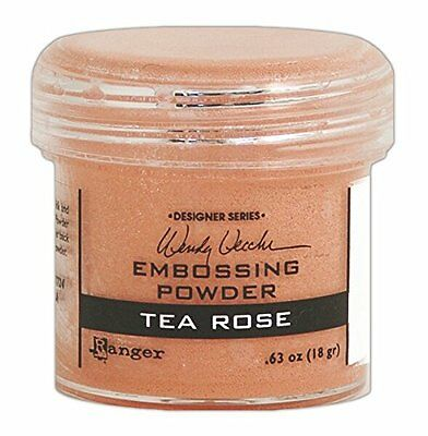 Ranger Wendy Vecchi Embossing Powders, 1 oz, Tea Rose