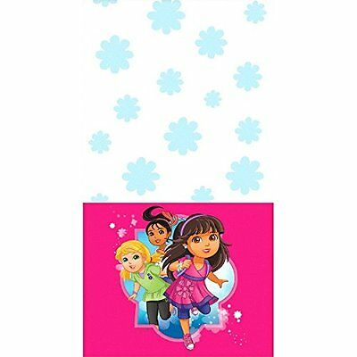 Amscan Dora and Friends Plastic Table Cover