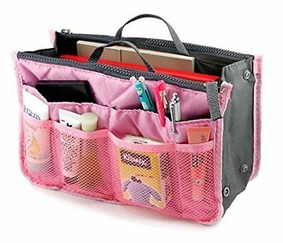 Lady Women Travel Insert Handbag Organiser Purse Large Liner