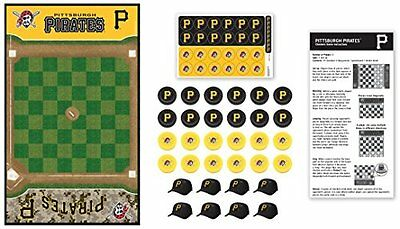 Masterpieces MLB Pittsburgh Pirates Checkers Board Game