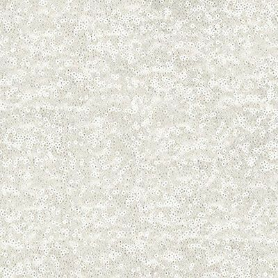 White Glitz Sequin Fabric - By the Yard
