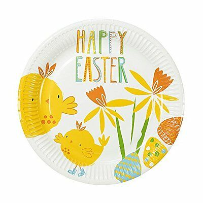 Talking Tables Easter/Spring Time Party Paper Plates (12 Pac