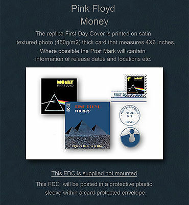 Pink Floyd Money Replica First Day Cover