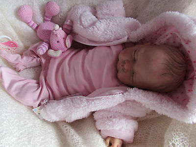 Reborn  Baby Girl Bunny A Special Doll For A Special Gift New Year Custom Order