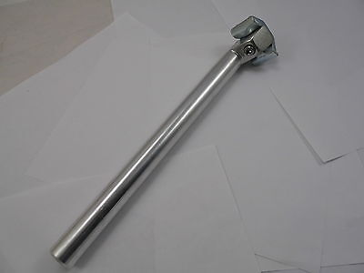 25.8mm Seatpost Silver Alloy Bike / Cycle - 30cm  (No3)