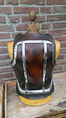 Rare,antique,leather and metal ,medical corset,brace,corset,victorian 1880-1900