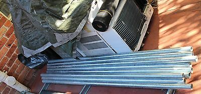 GALVANIZED STEEL PIPES x 7 (INDUSTRIAL)