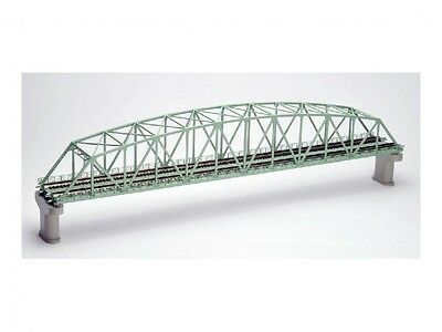TOMIX N gauge 3222 double track song chord large truss iron bridge F Free ship