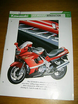 Kawasaki ZZR600 The complete fact file from Essential Superbikes 28 Pages