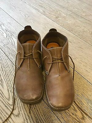 Clarks Mens Brown Leather Shoes - Size 9