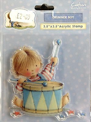 Crafters Companion Drummer Boy stamp A&A-ST-DRUM