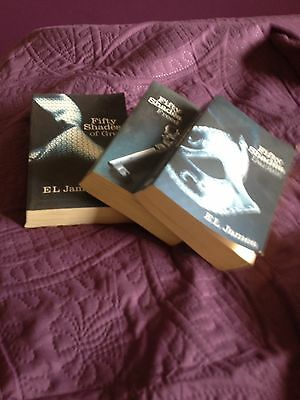 Fifty shades of grey  Fifty Shades Darker  Fifty shades Freed  3 Books