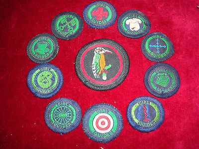 Collectable Set Of Girl Guide Badges