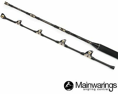 Shimano Tld 50-80Lb  Stand Up Boat Rod - Fitted With Roller Guides!