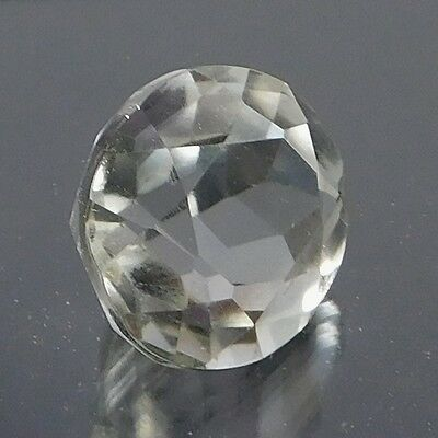 19.60 Cts NATURAL CRYSTAL QUARTZ FACETED OVAL SHAPE CUT LOOSE GEMSTONE