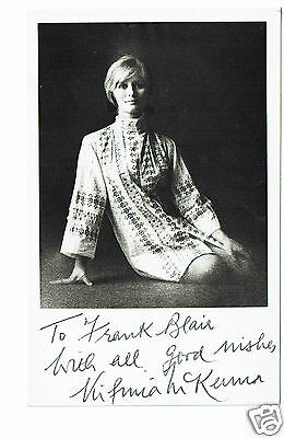 Virginia McKenna British Actress Born Free Hand Signed Photograph  5 x 3