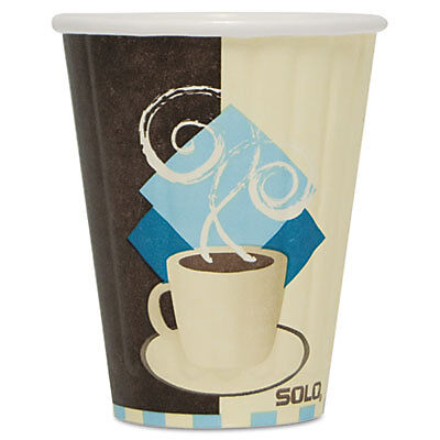 SOLO® Cup Company Cup,8 Oz Insul Hot Cup IC8-J7534CT