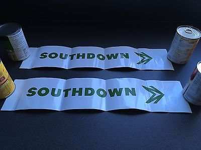 Southdown National Bus Company NBC sign
