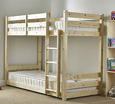 Shorty 2ft 6 HEAVY DUTY Solid PIne Bunk Bed (EB21)