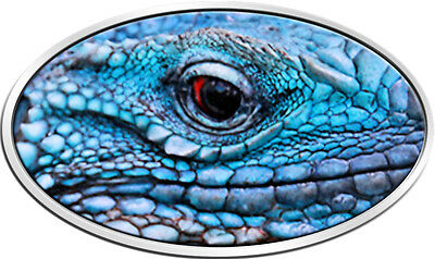 BLUE IGUANA XL Ultra High Relief Silver Coin 2$ Niue 2012