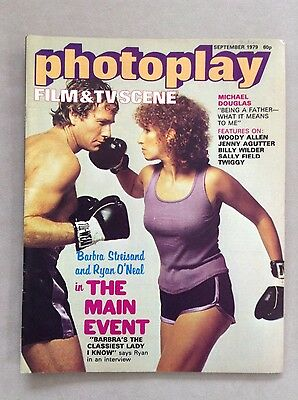 Photoplay Film Magazine September 1979 with Barbara Streisand Cover
