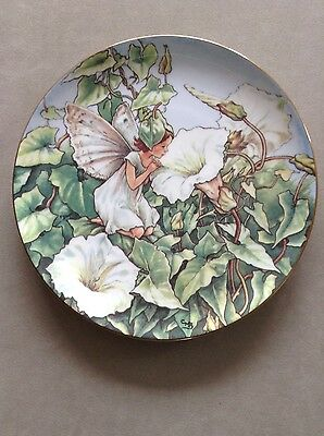 The White Bindweed Fairy Collectors Plate