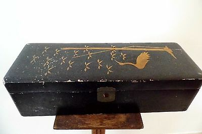 antique Chinese lacquer Box oriental
