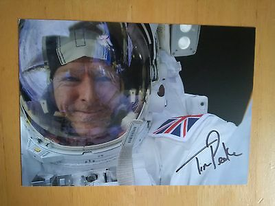 Tim Peake Signed PR Card * Astronaut * * UK Delivery Only *