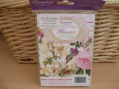 Hunkydory Little Book Of Flowers A New Seasons