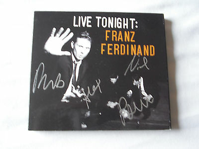 Franz Ferdinand Live Tonight Birmingham Academy SIGNED 2009 2 x CD new