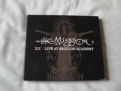 The Mission Live Brixton Academy 2011  2 x CD new  rare  sisters mercy