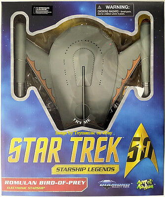Star Trek TOS ELECTRONIC ROMULAN BIRD OF PREY STARSHIP LEGENDS by Diamond Select
