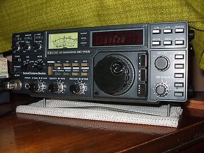 Icom Ic-751 All Band Hf Transceiver, Fully Opened.