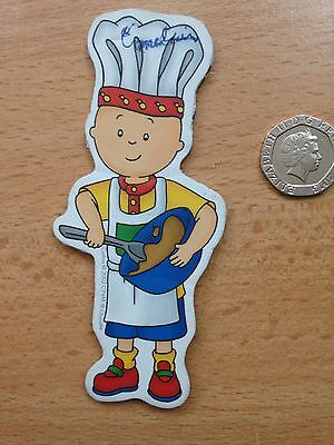 child cooking  fridge magnet