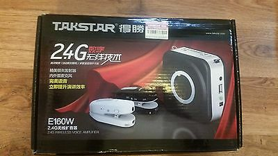 Portable Amplifier Takstar E160W Wireless Teaching Training Speeker Microphone