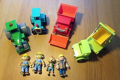 Bob the Builder Bundle - friction toys & characters