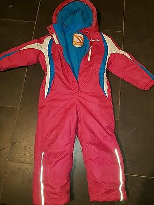 CAMPRI Girls ski suit age 7-8