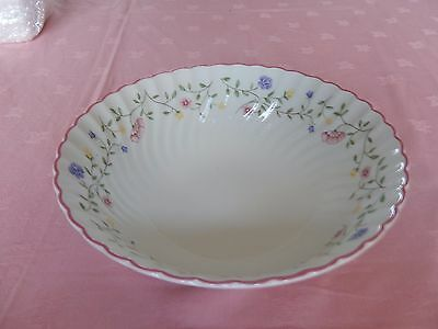 "Johnson Bros ""summer Chintz"" Large Fruit Serving Bowl 10""(25Cm) Diameter"