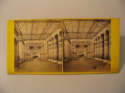 Egyptian Museum Stereoview Photo cdii Egypt ?