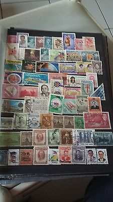 63 timbres Philippines (lot 20)