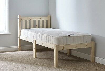 Shorty 2ft 6 Small Single HEAVY DUTY Solid Pine Childs Bed Frame (EB30)