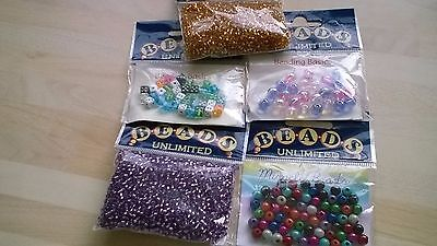 Assorted beads for crafters