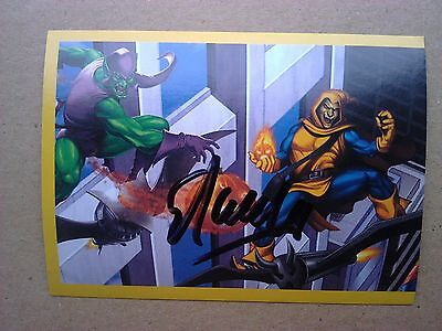 Stan Lee Signed Spider-Man sticker with COA