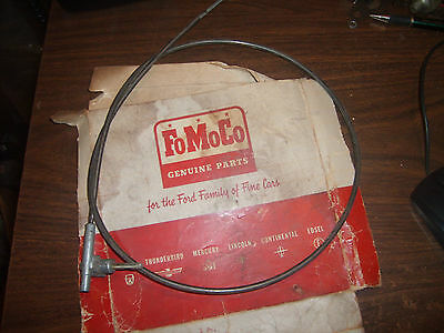NOS 1959 Ford car windshield wiper control cable