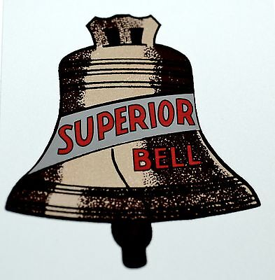 Caille Superior Bell Water Slide Decal # Ds 1067 Coin Op