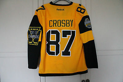"Nhl Jersey Pittsburgh Penguins Crosby Medium 48"" Winter Classic Jersey 2016 2017"