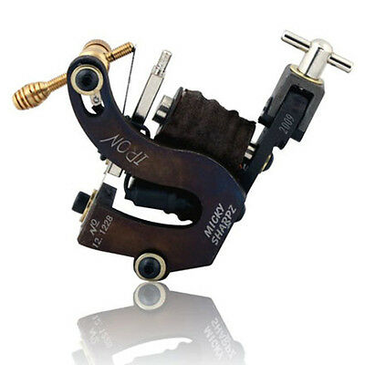 Newest Chrome Steel Rotary Tattoo Machine Gun For Shader/Liner Metal Motor A005