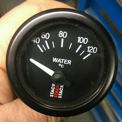 stack water temperature gauge autograss rally